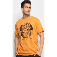 Camiseta O'Neill Face Off Masculina - Masculino-Amarelo