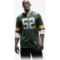 ... Camisa Futebol Americano Nike Green Bay Packers Masculina 62130fc4b32ed