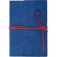 Caderno Camurça - Azul