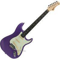 Guitarra Elétrica Tagima Stratocaster Tg-500 Madeira Roxo