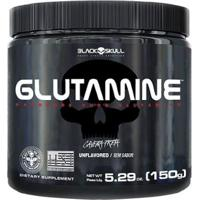 Glutamine - 150G - Black Skull - Unissex