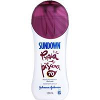 Protetor Solar Sundown Praia E Piscina Fps 70 120Ml - Unissex