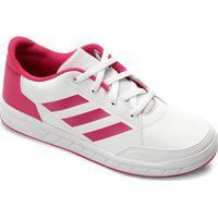 Tênis Infantil Adidas Altasport Masculino - Unissex-Branco+Rosa