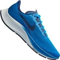 Tênis Nike Air Zoom Pegasus 37 - Masculino - Azul/Branco
