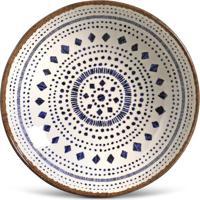 Prato Fundo Coup Asteca Cerâmica 6 Peças Porto Brasil