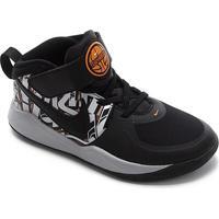 Tênis Infantil Nike Team Hustle D 9 Grft Ps - Masculino-Preto+Prata
