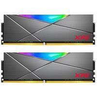 Memória Xpg Spectrix D50, Rgb, 16Gb (2X8Gb), 3600Mhz, Ddr4, Cl18, Cinza - Ax4U36008G18I-Dt50