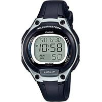 Relógio Feminino Casio Digital Lw2031Avdf - Unissex-Preto