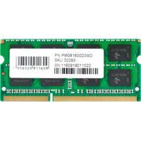 Memória Pcyes Pm081600D3So Sodimm 8Gb Ddr3 1600Mhz