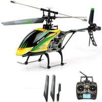 Helicóptero De Controle Wltoys Hover R/C V912 2.4Ghz 4 Canais