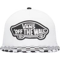 Boné Beach Girl Trucker Hat Vans - Off White