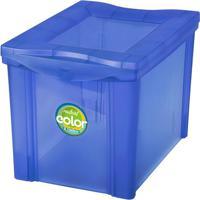 Caixa Organizadora Radical- Azul Escuro- 30,7X30,5X4Ordene