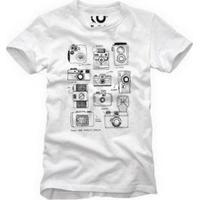 Camiseta Cameras Reserva Masculina - Masculino-Branco
