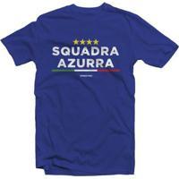 Camiseta Itália Squadra Azurra - Masculino