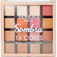 Paleta De Sombras 16 Cores New Collection New Face