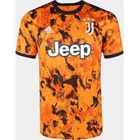 Camisa Juventus Third 20/21 S/N° Torcedor Adidas Masculina - Masculino-Laranja