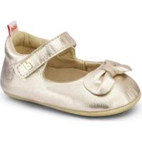 Sapatilha Infantil Bibi Afeto Joy Feminino Dourada - 1124036 - Feminino