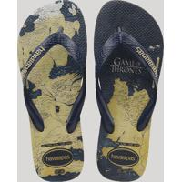 Chinelo Havaianas Masculino Game Of Thrones Bege