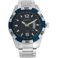 Relógio Speedo 24849G0Evna1 Prata/Azul-Marinho