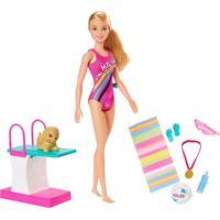 Boneca Barbie - Barbie Dreamhouse Adventures - Barbie Nadadora - Mattel