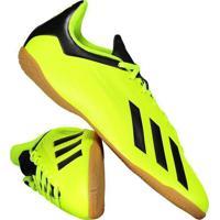 Chuteira Adidas X Tango 18.4 In Futsal Amarela