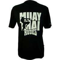 Camiseta Básica Serial Fight Muay Thai 862- Rudel
