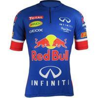 Camisa Cabani Red Bull Poliester Estampada Masculino - Masculino