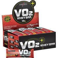 Barra De Proteína Vo2 Whey Bar C/ 24 Barras - Integralmédica - Unissex