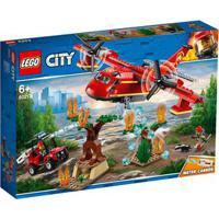Lego City - Avião De Combate Ao Fogo - 60217 Lego 60217