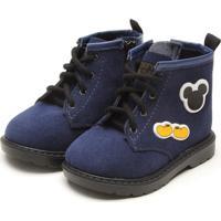 Bota Grendene Kids Mickey Cuteboot Baby Azul