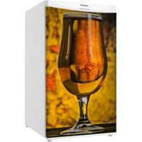 Adesivo Sunset Adesivos Frigobar Decorativo Porta Taça De Cerveja