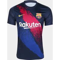 Camisa Barcelona Pré Jogo 19/20 Nike Masculina - Masculino