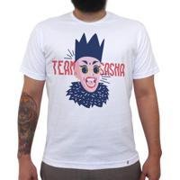 Team Sasha - Camiseta Clássica Masculina