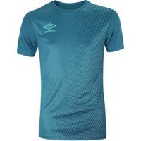 Camisa Umbro Twr Graphic Velocita - Masculina - Petroleo