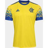 Camisa Flamengo Iii 17/18 Adidas Masculina - Masculino