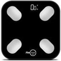Balanca Digital Smart Corporal Com Bioimpedancia App Android/Ios Preto - Flexinter Fit
