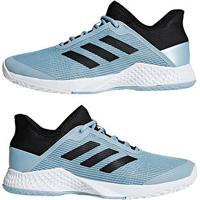 d845cd0732d ... Tênis Adidas Adizero Club Masculino - Masculino-Azul Claro+Preto