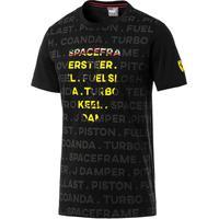 3d85841dff371 ... Camiseta Puma Ferrari Big Shield Masculina - Masculino-Preto