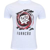 Camiseta Do Atlético-Pr Ciclone - Masculina - Branco