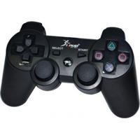 Controle Sem Fio Knup Dualshock Para Ps3 Kp-4021 Preto