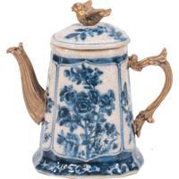 Jarra Decorativa De Porcelana Cambuí Ii