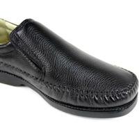 Sapato Clacle Casual Masculino Confort - Masculino-Preto