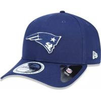 044d90f5b9c5f Netshoes  Boné New Era Aba Curva New England Patriots Neon In The Dark -  Masculino-Azul