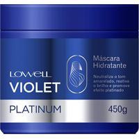 Lowell Máscara Violet Platinum 450G - Feminino-Incolor