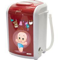 Maquina Lavar Petit Bebe Vermelho