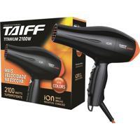 Taiff Secador Titanium 2100W Série Colors Laranja 220V