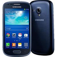 "Smartphone Galaxy S3 Mini Samsung Azul - 3G - Wi-Fi - 4"" - 8Gb - 5Mp - Android 4.2 - Desbloqueado"