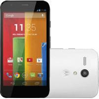 "Smartphone Motorola Moto G Branco Xt1032 - 3G - Wi-Fi - 8Gb - Tela De 4.5"" - 5Mp - Android 4.3 - Desbloqueado"