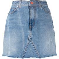 Heron Preston Saia Jeans Slim - Azul