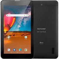 Tablet Multilaser M7S Plus, Bluetooth, Android 8.1, 16Gb + 16Gb Com Cartão Micro Sd, 2Mp, Tela De 7´, Preto - Nb312